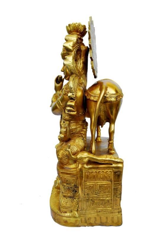 Lord Krishna Brass Metal Made Statue Sculpture Buy