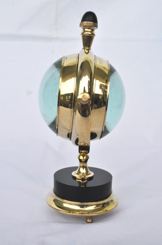 Moon Style With Marble On Base With 3 Inch Clock Buy