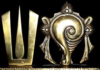 Shankh Chakra Nama Lord Vishnu Symbol For Temple Amp Gift