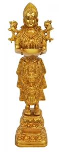 Beautiful stylish religious hand made deep lady statue