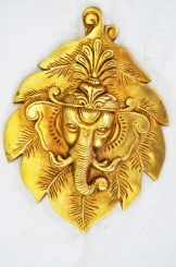Lord Ganesha relilgious & trendy hand made wall hanging