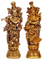 Radha Krishna Statue Sculpture Murti Murthi Decorative Figure