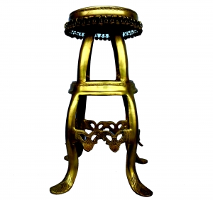 Designer Stool / StandMade in Brass Metal
