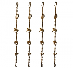 Stylish zula chain zula kada swing chain set,fancy jhula chain