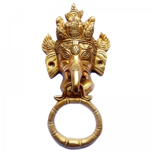 Unique and Brass Made Door Knocker By Aakrati