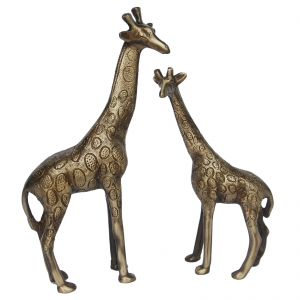 Aakrati Decorative Brass Animal Brown