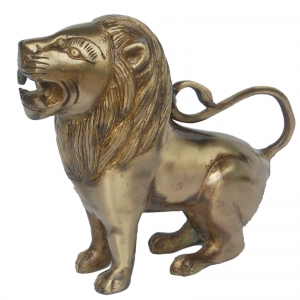 Aakrati Brassware Lion Statue Unique For Gifting