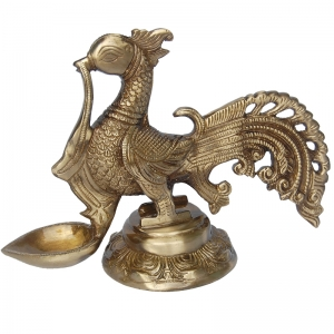 Religious Brass made diya by Aakrati