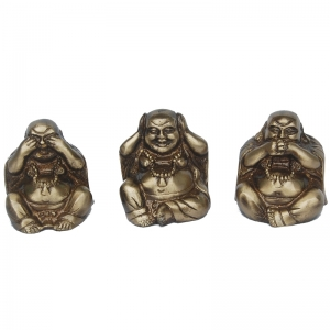 Laughing Buddha Set By Aakrati
