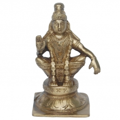 Lord Murgan Brass Statue By Aakrati