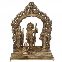 Brassware Ram Darbar made in brass By Aakrati