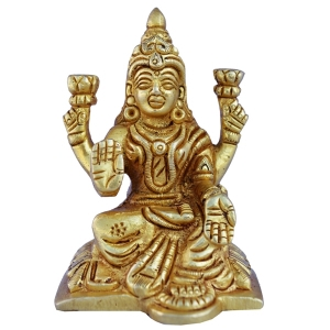 Aakrati-Goddess Lakshmi Statue of Brass