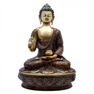 Handicrafted Brass Statue of Lord Buddha