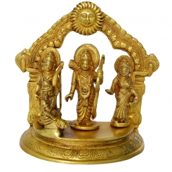 Ramdarbar metal brass made murti
