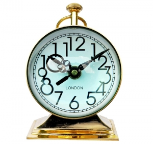 Trobhy style with 4 inch dia Clock for your table