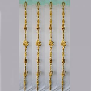 Brass Jhula Chain set Garden furniture 7.5 feet long