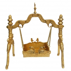 Brass Swing (Palna) for lord a unique figure for your temple