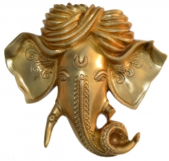 Ganesh face wall haning decoration figure