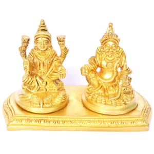 Money Lord Kuber and Lakshmi Statue