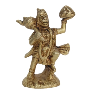Brass Religious Statue Of Lord Hanuman