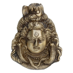 Wall Hanging of Lord Shiva in Barss