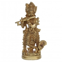 Religious Statue of Lord Krishna