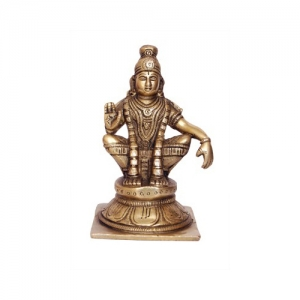 Ayyappa metal figure for your Temple