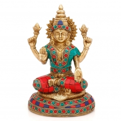 Laxmi Brass Reliogious Statue for wealth and Fortune