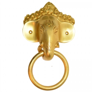 Designer Brass Elephnat Royal Door Knocker