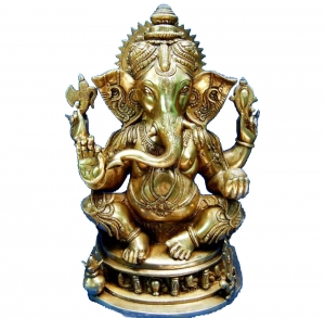 Lord Ganesha Brass made Statue by Aakrati