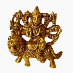 Durga Maa brass made hand craft pooja ghar/Temple/Gift statue
