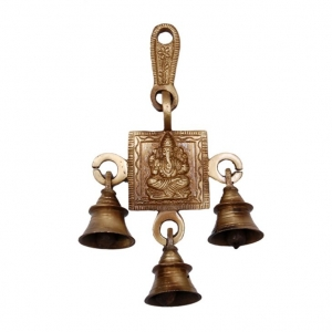 Hand crafed religious wall hanging door bells