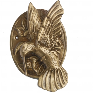 Aakrati Bird Door Knocker in Antique Finish