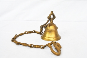 Brass ware temple outdoor decoration bell for gift purpose