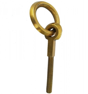 Simply design Plank Hook made of brass metal to hang wooden plank